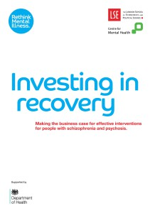 Report: Investing in Recovery